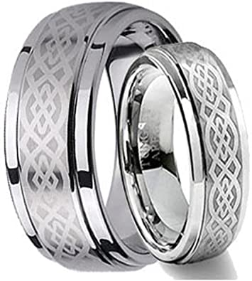 Tungsten Jeweler CK1-LADIES6MM-MEN8MM-CELTIC product image 3