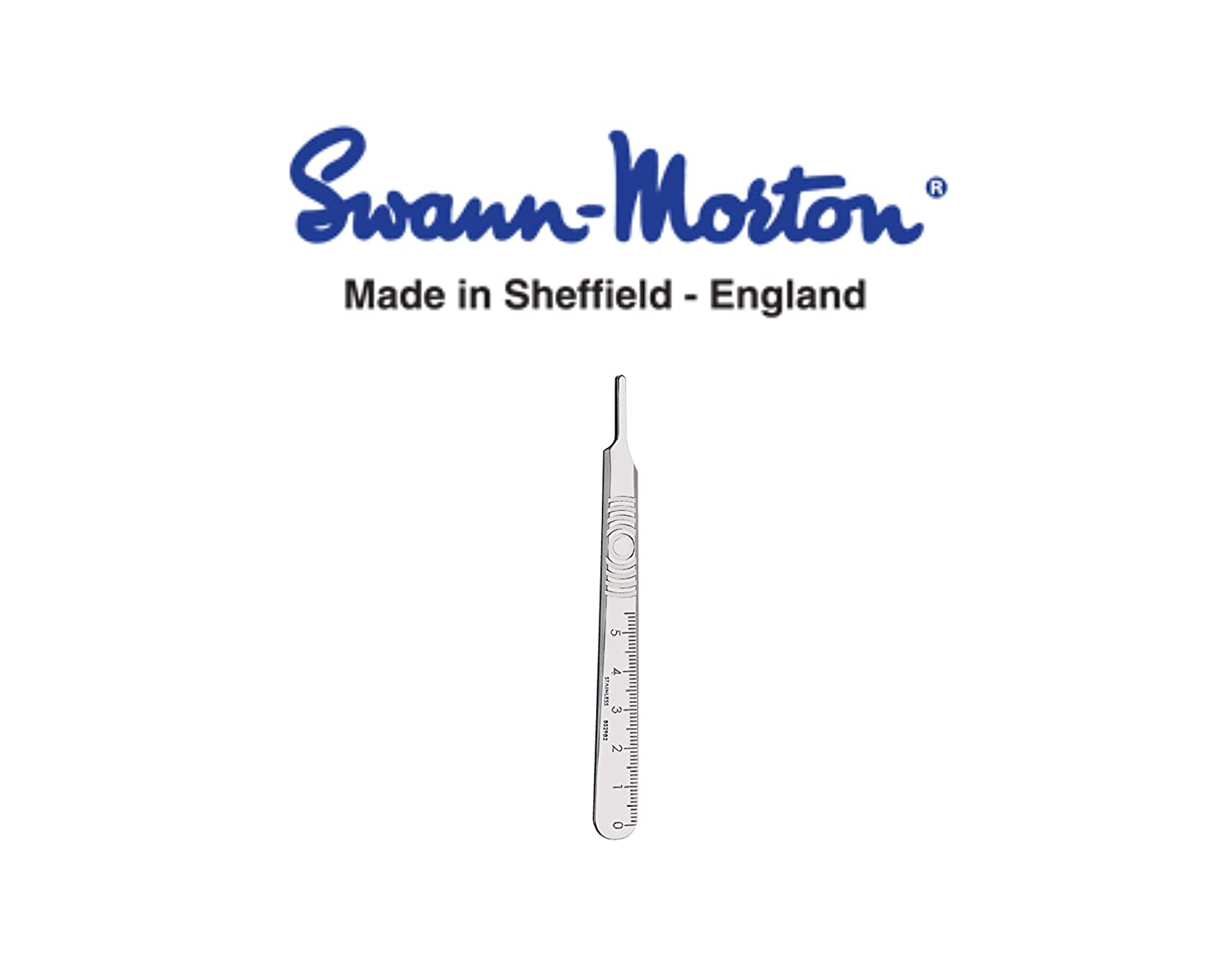 3G S//S Surgical Scalpel Handle by Gas N Pow3r/® x1 Swann Morton No