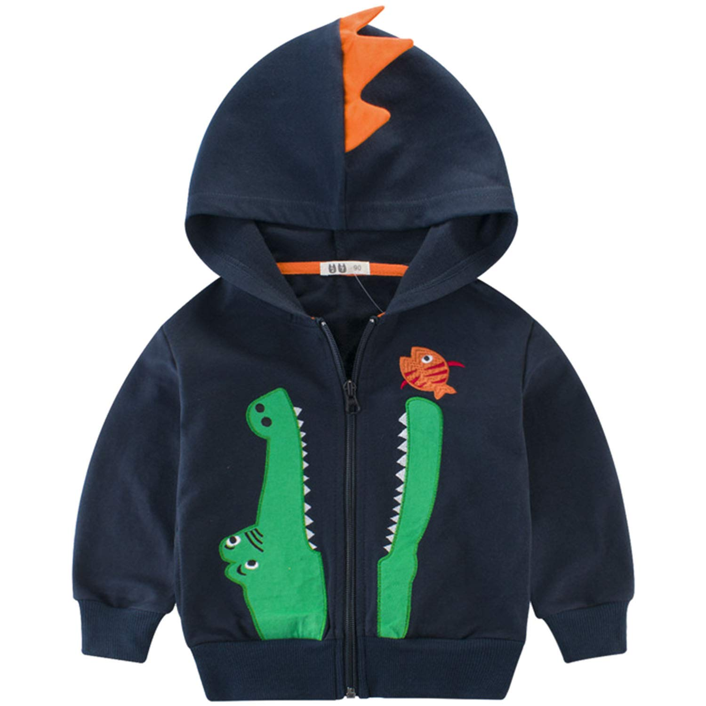 Snyemio Abrigo de Capucha Bebé otoño Invierno, Deportivas Capa Chaqueta Ropa Manga Larga Outerwear para Niños