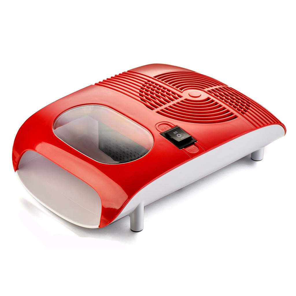 Amazon.com : BNG Professional Red Nail Dryer with Fan Manicure ...