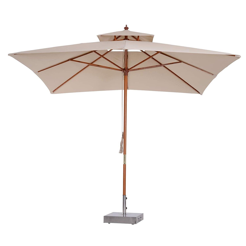 Sombrilla Parasol de Bambú
