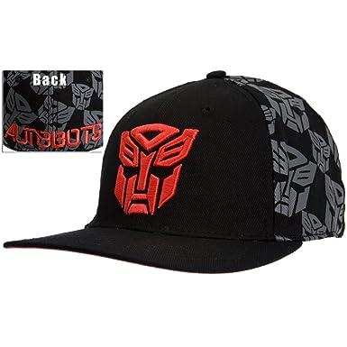 Transformers  Baseball Cap Hat - Autobots Emblem Logo Black (Apparel)   Amazon.co.uk  Clothing 528df1043ab