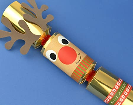 8 gold foil standy uppy rudolph make your own christmas crackers kit 8 gold foil standy uppy rudolph make your own christmas crackers kit solutioingenieria Choice Image