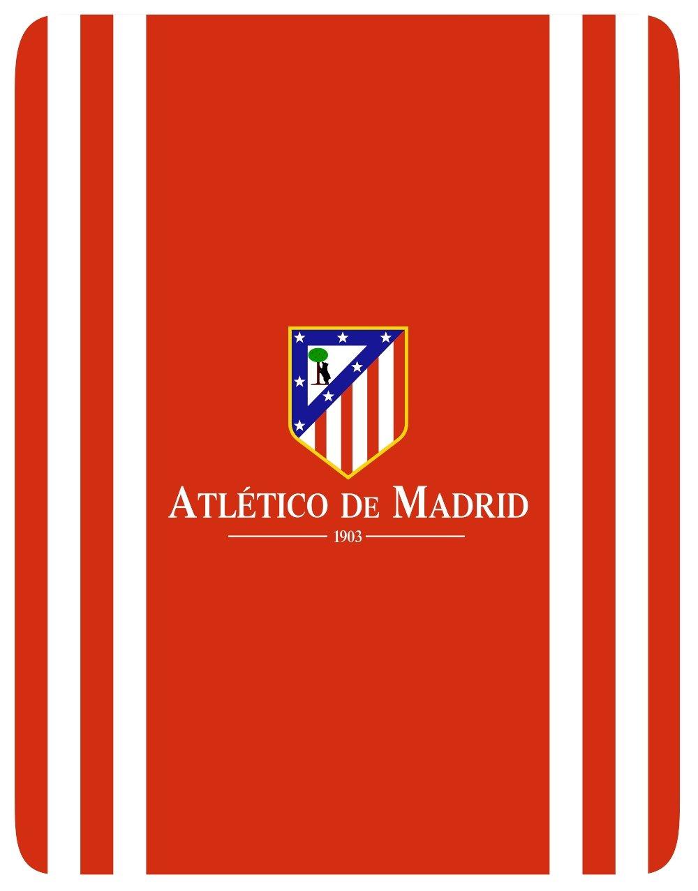 Atlético de Madrid Manta Polar Oficial Tamaño 130x160cm Mod. ATM STADIUM: Amazon.es: Equipaje