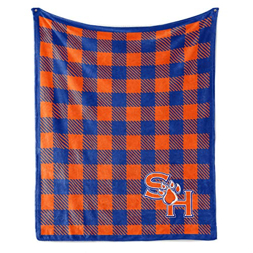 Sam Fleece - Official NCAA Sam Houston Bearkats - Light Weight Fleece Blanket - 30x40