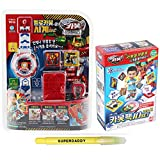 Hello Carbot Watch VER.2 + Carbot Pack Storage Set / Korean Animation Toy / Wrist Watch Toys for Robot Summoning