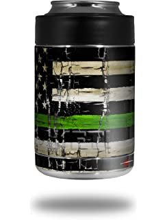 0c6aefbfea2 WraptorSkinz Patriotic Skin Wrap for Yeti Rambler Colster and RTIC Can  (Cooler NOT Included)