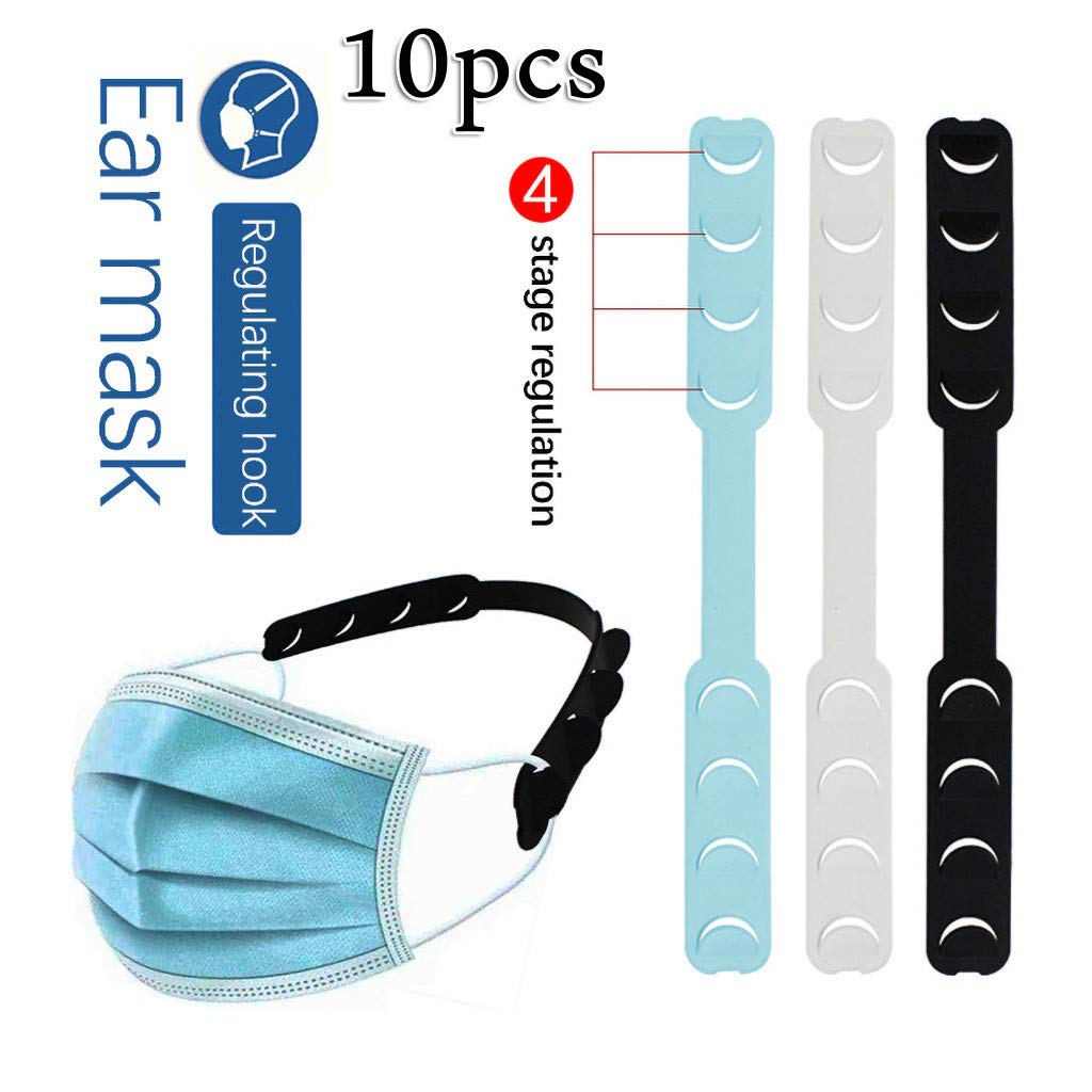 Anti-Tightening Mask Holder Hook Ear Strap Accessories Ear Grips Extension Mask Buckle Ear Pain Relieved Colour Random Mask Strap Extender