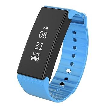 🍒 Btruely Reloj Inteligente D1,Teléfonos Inteligentes Bluetooth con Cámara/Podómetro/Monitor de Sueño Reloj Inteligente Impermeable IP67 Hombre Mujer Niño ...