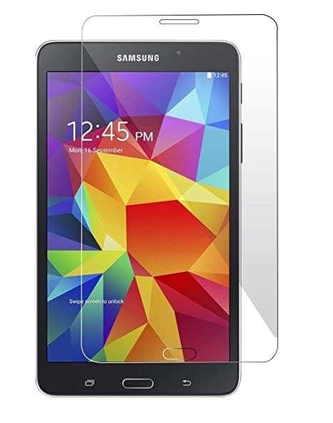 S Softline Tablet Tempered Glass Screenguard for Samsung Galaxy Tab 4  7.0 quot;  SM T230 Mobile Accessories