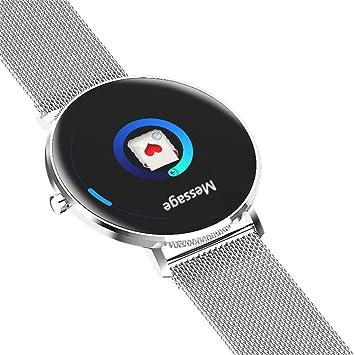 Cebbay Reloj Inteligente Color a Pantalla Completa Impermeable Monitor de Pulso cardiaco Reloj Deportivo Pulsera Reloj