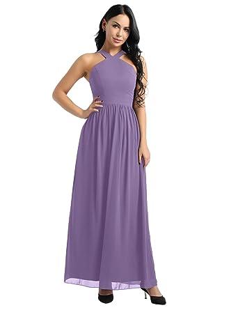 dPois Vestido de Boda Fiesta Cóctel para Mujer Dama de Honor ...