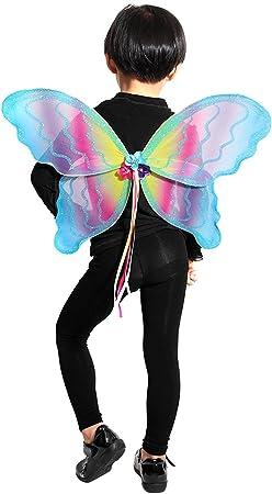 Seruna - Disfraz de Mariposa elfa Infantil, Talla única: Amazon.es ...