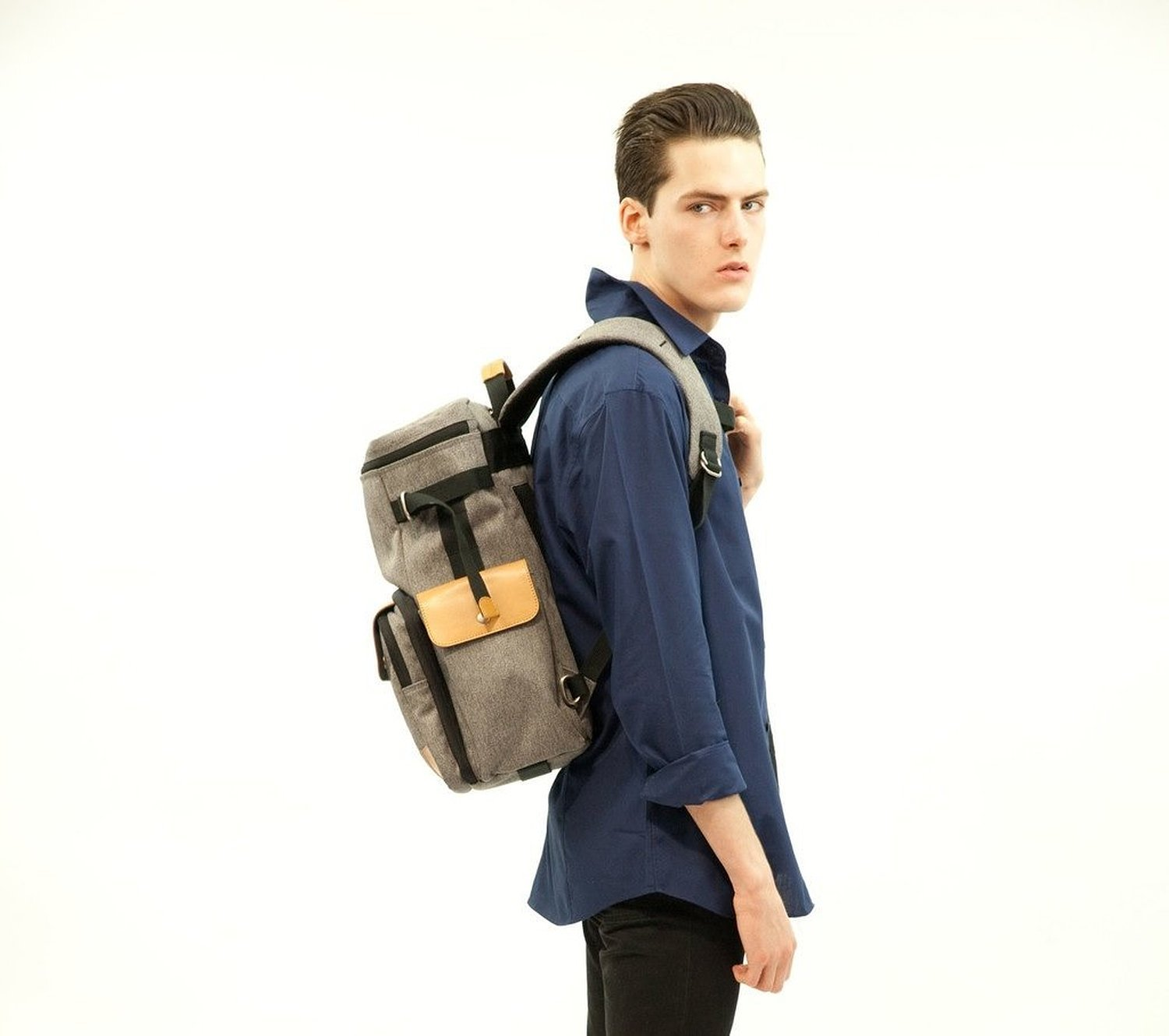 Venque Craft Co. CamPro Camera Backpack (Grey) by Venque Craft Co. (Image #5)