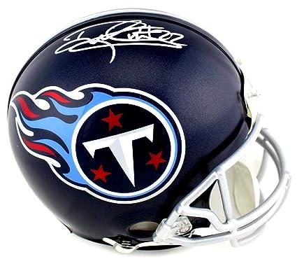 Derrick Henry Autographed Helmet - Riddell Full Size Authentic Blue - Autographed  NFL Helmets 35a41085e