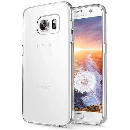 CRXOOX Funda para Samsung Galaxy S7, TPU Carcasa,Resistente a Golpes,Arañazos,Silicona Cover para Samsung Galaxy s7