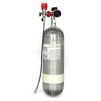 iorman Original 110 V 60 hz 300Bar sistema de compresor de aire eléctrico para PCP Airgun Paintball aire tanques relleno: Amazon.es: Deportes y aire libre