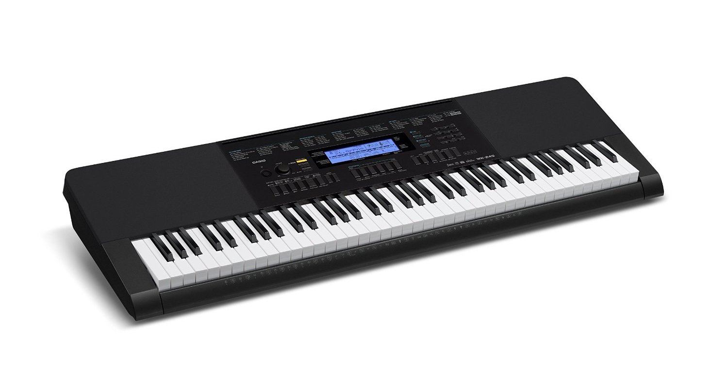 Casio WK-245 PPK 76-Key Premium Portable Keyboard Package with Headphones, Stand and Power Supply by Casio (Image #3)