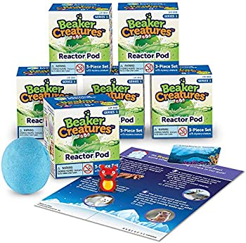 6-Pack Learning Resources Beaker Creatures Reactor Pods