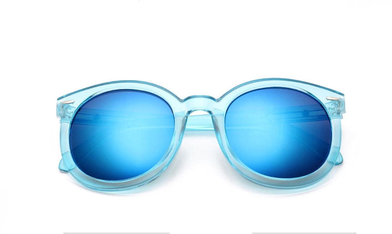 ¿Quién Soy Yo Sra Hombres Caja Transparente Caja Transparente De Color Reflectante Gafas De Sol Frescas Multicolores,TransparentBlue