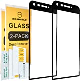 [2-PACK]-Mr Shield For LG G5 [Tempered Glass] [Full Cover] [Black] Screen Protector with Lifetime Replacement Warranty