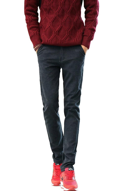 YONGENT Men's 988 Fit Body Straight Leg Casual Pants