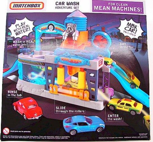 Amazon Com Matchbox Car Wash Adventure Set Toys Games