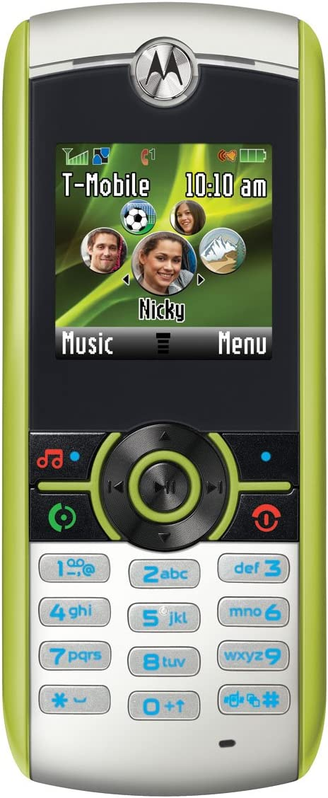 B0026IC8JU Motorola Renew W233 Prepaid Phone, Green (T-Mobile) 61gC9AcuTmL