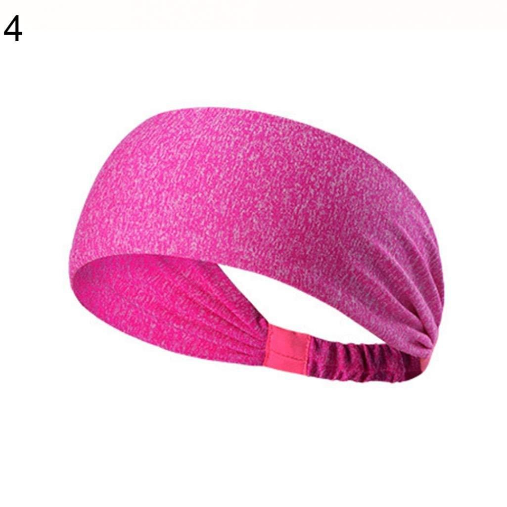 Hommes Femmes Sports Bandeau De Survêtement Courir Yoga Bandeau Extensible Bandeau Cheveux 10 Durable Et Utile