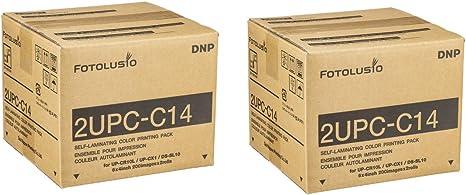 Dos cajas de paquetes para impresiones 2UPC-C14 para la ...
