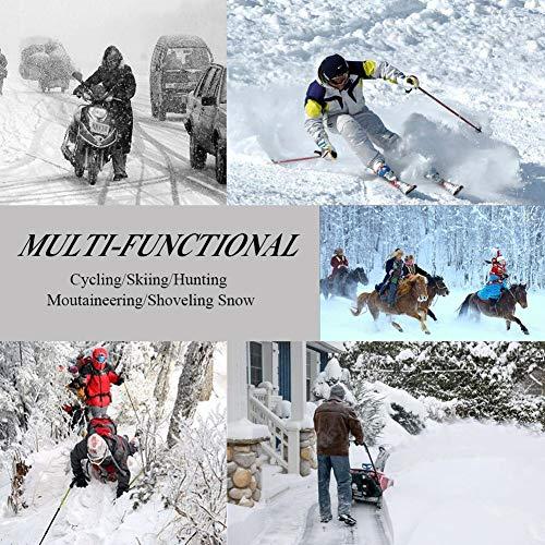 CAMOLAND Fleece Slouchy Beanie Winter Cotton Ski Baggy Unisex
