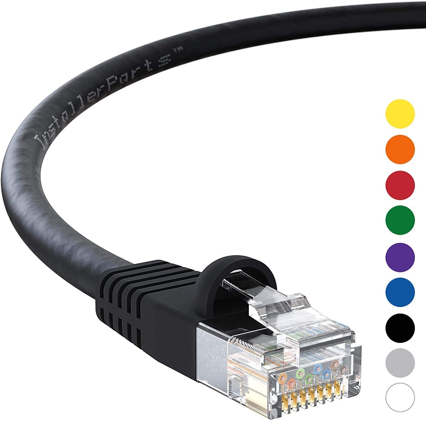 30ft Cat6 UTP Network Ethernet Internet Cable Wire Yellow 550MHz 24AWG LAN Cat 6