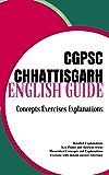 CGPSC/SSC CHHATTISGARH PSC/SSC English Manual [Concepts Explanations & Practice MCQs]: Mocktime Publication