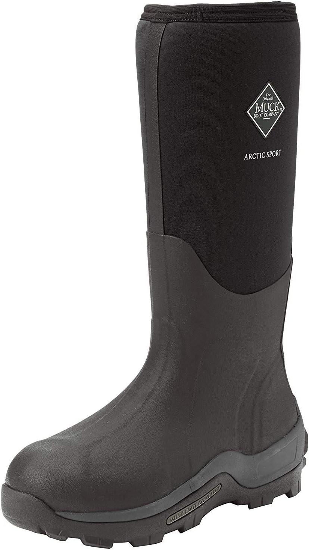 Muck Boot Arctic Sport Rubber High Performance Men's Winter Boot Black