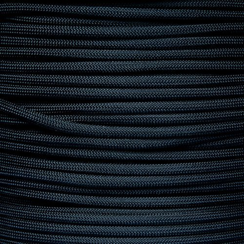 Paracord Planet Titanium Series True 550 Military Specification Type III Parachute Cord Made with Genuine Authentic 7 Strand 100% Nylon 550 LB Tension Strength Mil Spec MIL-C-5040H Tactical Paracord - Multiple Colors & Lengths Available