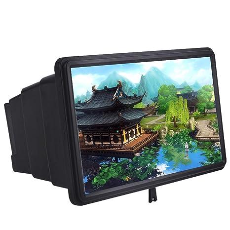 MAIFENGLE Celular Pantalla Amplificador Smartphone 3D HD Movie ...