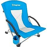 KingCamp(キングキャンプ) ローチェア あぐらチェア 椅子 折りたたみ アウトドア チェア キャンプ椅子 レジャー コンパクト 持ち運び 釣り 收纳袋付 KC3841