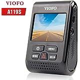 VIOFO 119 ドライブレコーダー ドラレコ 1080p 60fps Full HD Sony-Sensor G-Sensor 2インチLCD画面 常時/衝撃/ループ録画 WDR 動体検知 スーパーコンデンサ 最大128GBカード 1年保証 (119S)