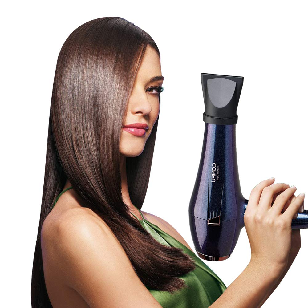 CONFU Professional Hair Dryer, 1875W Negative Ionic Hair Blow Dryer Fast Drying with 2 Speed & 3 Heat Setting, AC Motor with Diffuser, Comb & 2 Concentrator,ETL Certified by CONFU (Image #5)