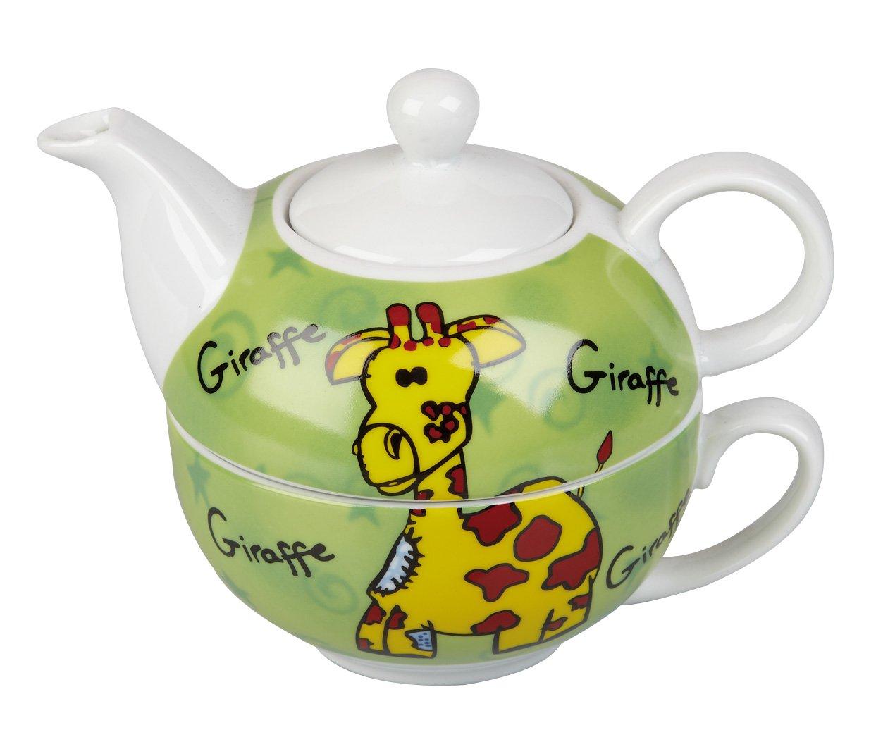 Giraffe Tea Set For One Ravensden