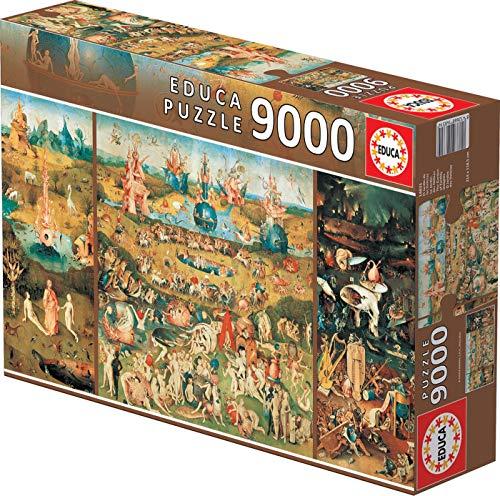 (Educa 9,000 Piece Puzzle - The Garden of Earthly Delights )