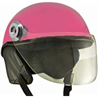 Anokhe Collections Lively Unisex Scooty helmets for safety Comfort and Ease (Small, Pink)
