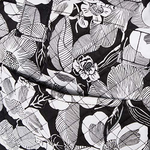 Vera Bradley Signature Cotton Compact Weekender Travel Bag, Bedford Blooms