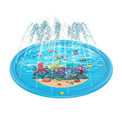 "Simplylin Kiddie Sprinkler Pad - Summer 66.9"" Water Toys Play Pad,for Age 1~5: Home & Kitchen"