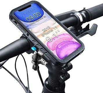 SPORTLINK Soporte Movil Bicicleta para iPhone 11: Amazon.es ...