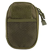 Gogoforward Compact Multi-Purpose Tactical MOLLE EDC Utility Gadget Pouch Tools Waist Bag Pack