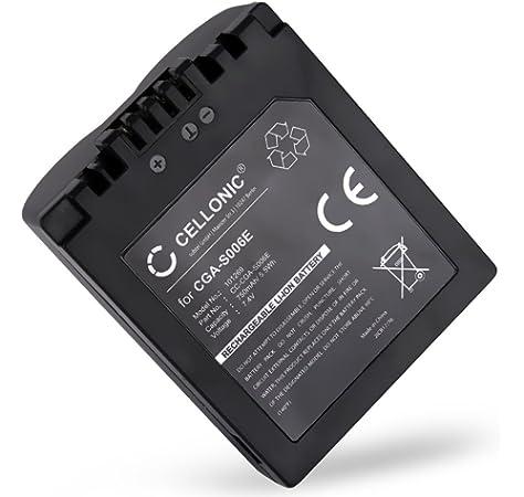 Chili Power CP-E5/Bater/ía para Canon EOS Rebel XS Rebel XSi Kiss X2 450d Kiss X3 Rebel T1i 500d 1000d Kiss F