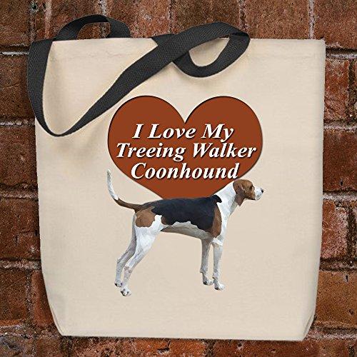 Love Walker (I Love My Treeing Walker Coonhound - Tote Bag)