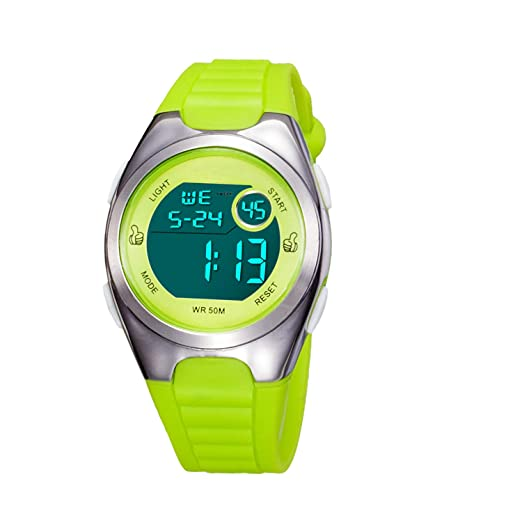 fd623164e Kids Digital Sport Watch Outdoor Waterproof Watch with Alarm for Child Boy  Girls Gift LED Kids