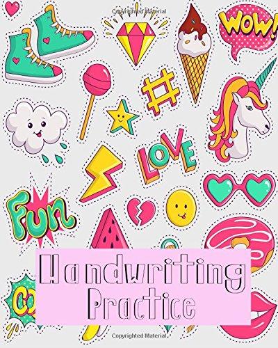 Download Handwriting Practice: Blank Hand Writing For Kids Homwork (Volume 9) pdf epub